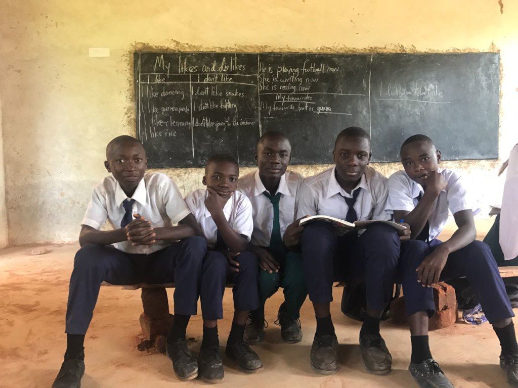 Provide Desks and Chairs to Students in Tanzania