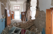 Marche's earthquake: give kids a new civic center