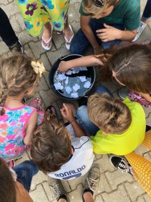 Kids enjoying their summer program of activities