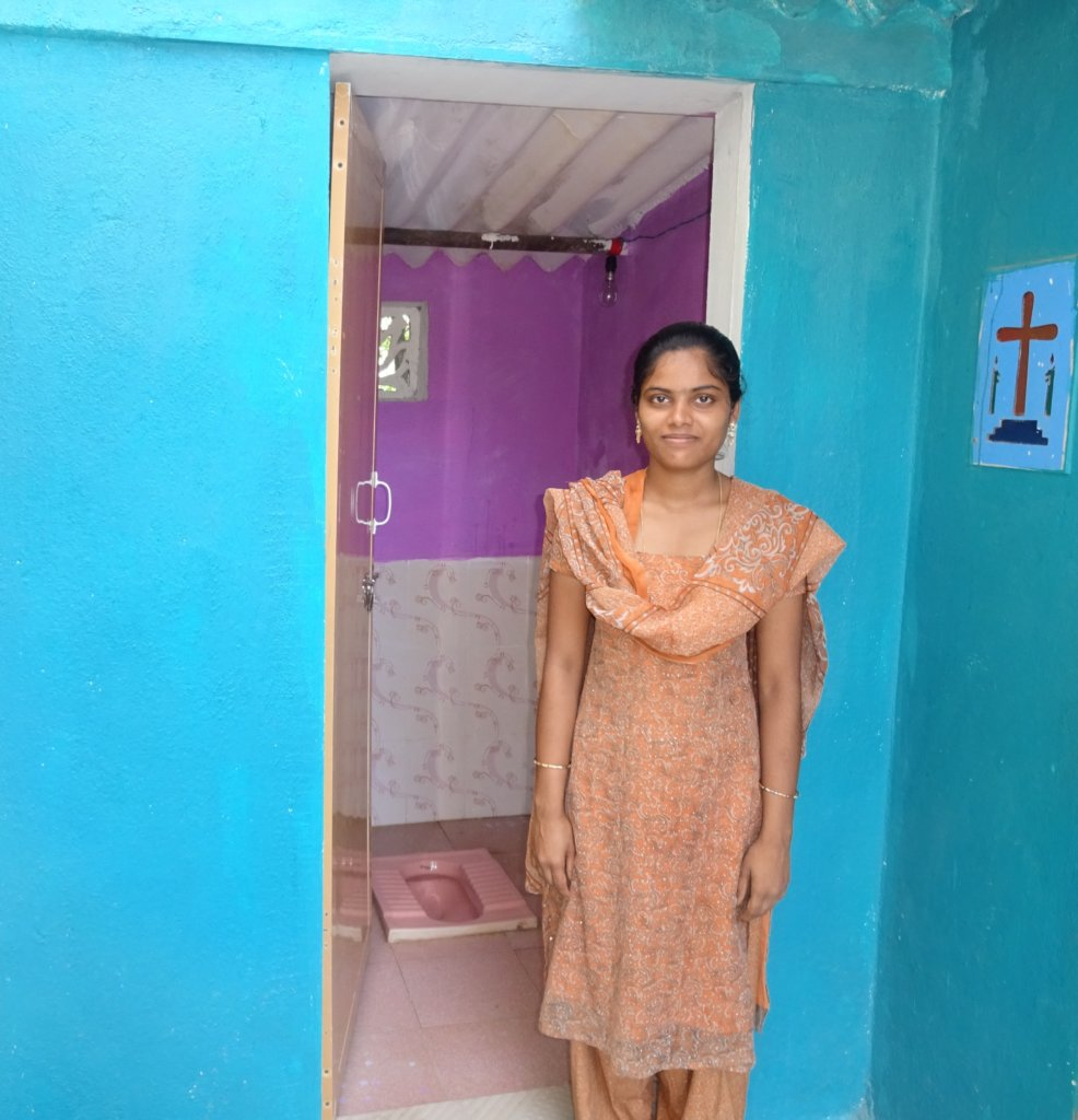 Build 150 toilets for 150 families in South India