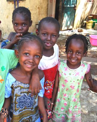 4 children in Action for Health