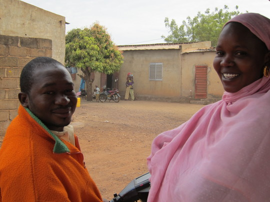 Community Health Workers Moustapha and Diba