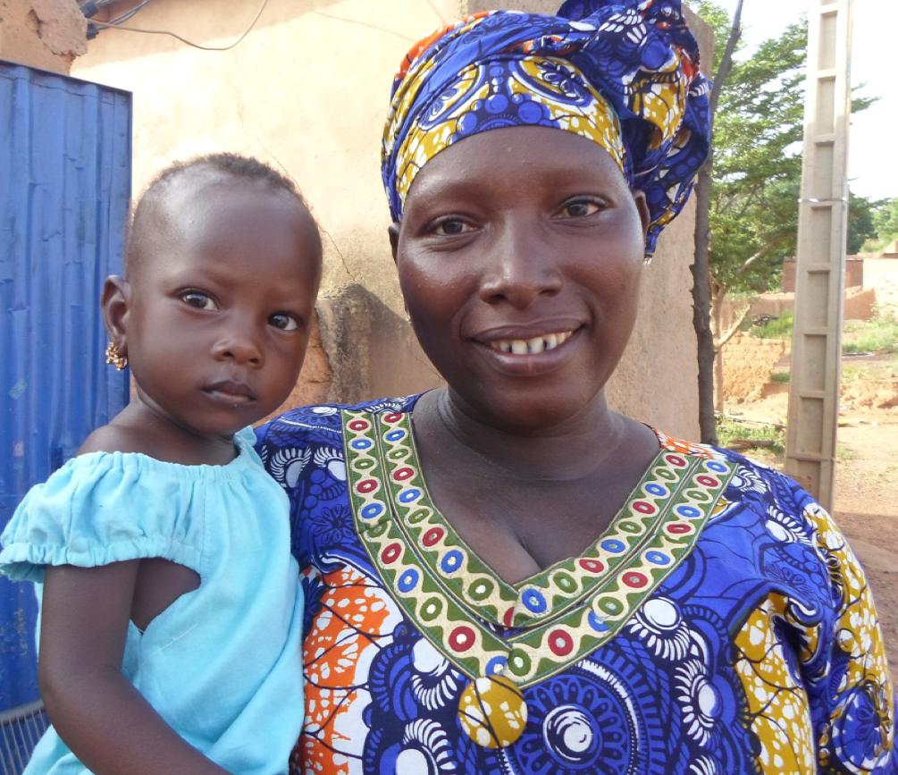 Mah Diarra & Daughter