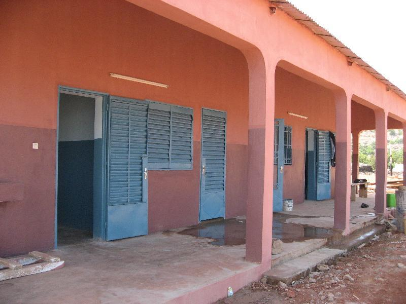The exterior of the new clinic.