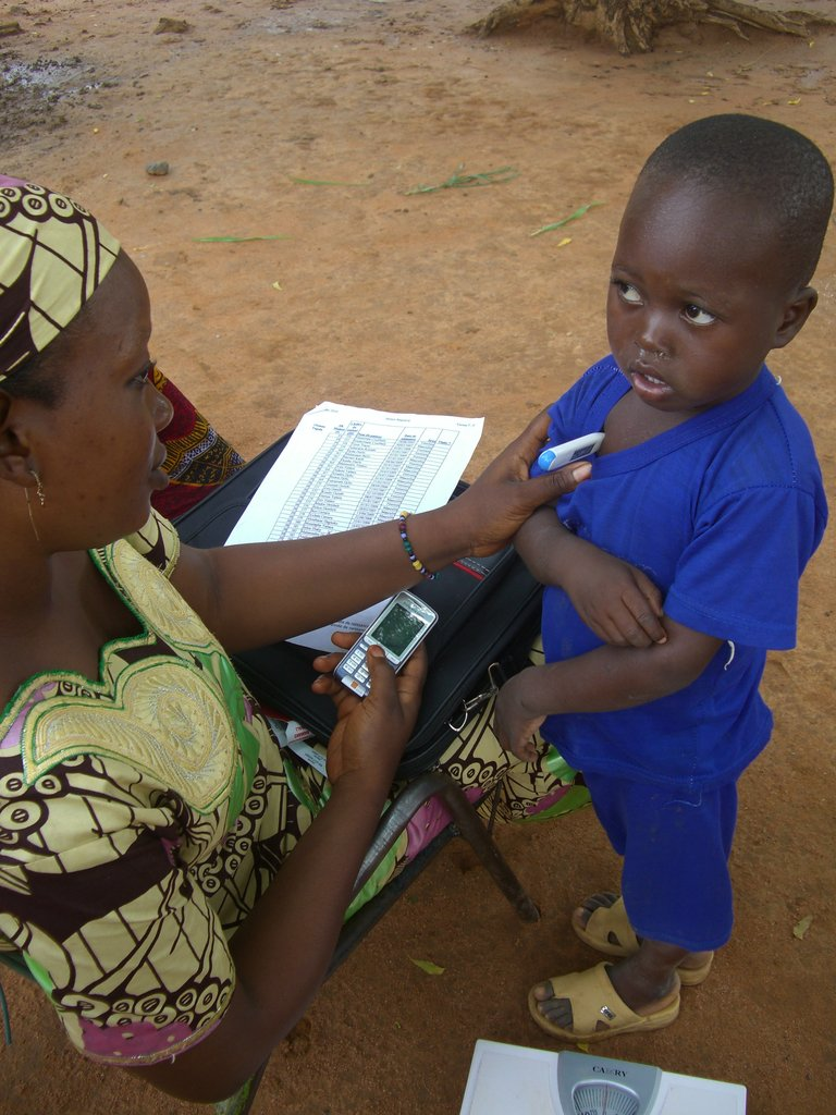 Using mobile phone technology to monitor health