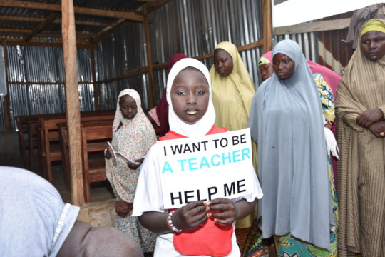 Empower 50 Nigerian Trafficked Victims