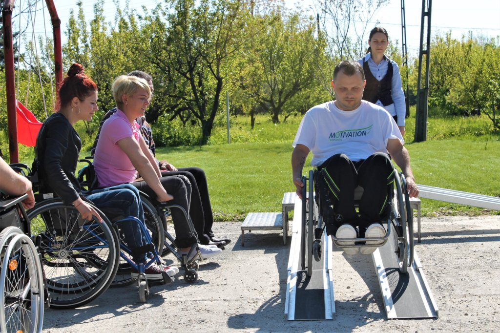 Mobility for 50 Romanians with disabilities