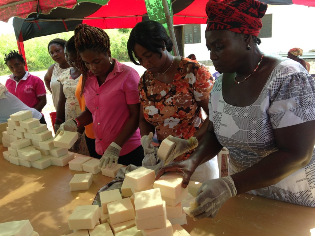 Train 20 Women to Make Soap & Prevent Trafficking