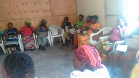 Trauma healing workshop for GBV survivors
