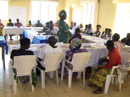 Retreat for 25 GBV facilitators