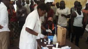 Mobile clinic for HIV testging