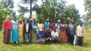 Gender Based Violence Discussion in Gitega
