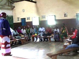 Discussion on gender based violence (GBV)