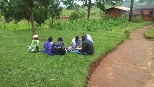 Small group discussion on Gender Based Violence.