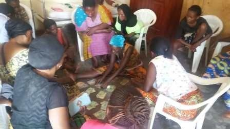 Annual Meeting of Self-Help Group that saved $1914