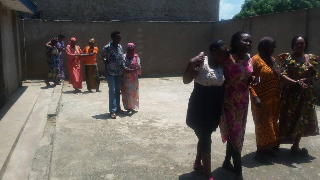 Trust Walk during GBV Workshop