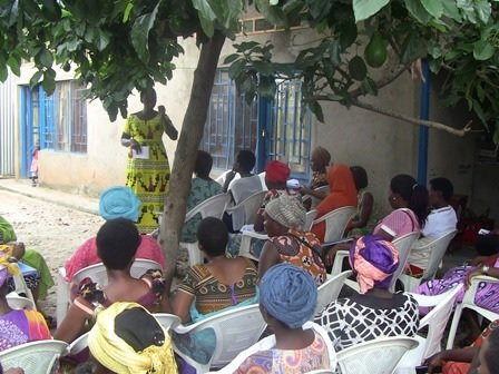 Assembly for  representatives of self help groups.