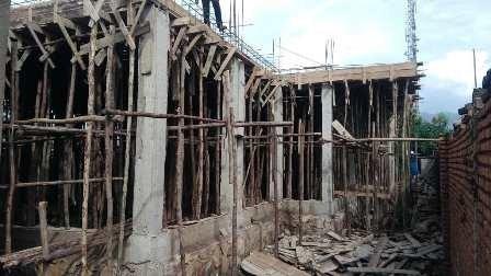 Progress on building of Maternity Ward.