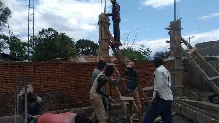 Progress on building of Maternity Ward