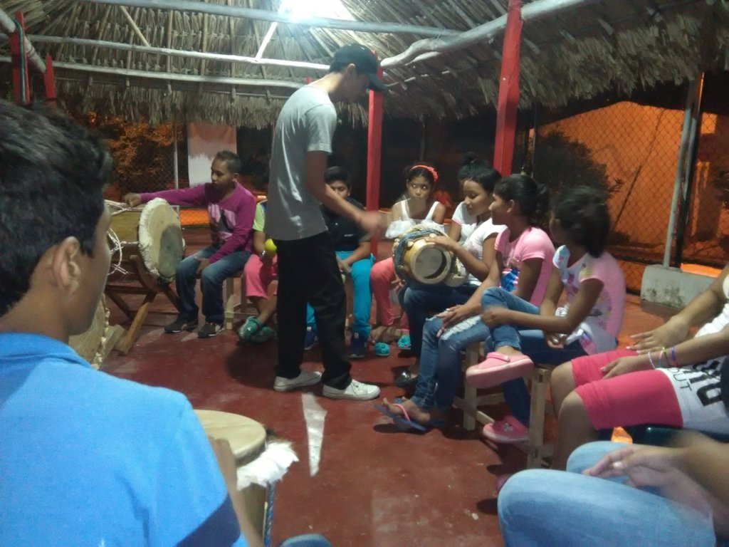 Art as a basis for peace for children in Sincelejo