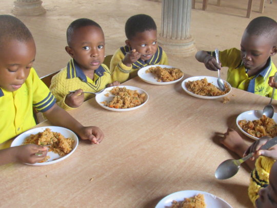 School Meals for 500 Students To Improve Learning