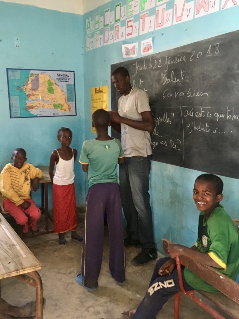 Chance For All in an African Magical Classroom