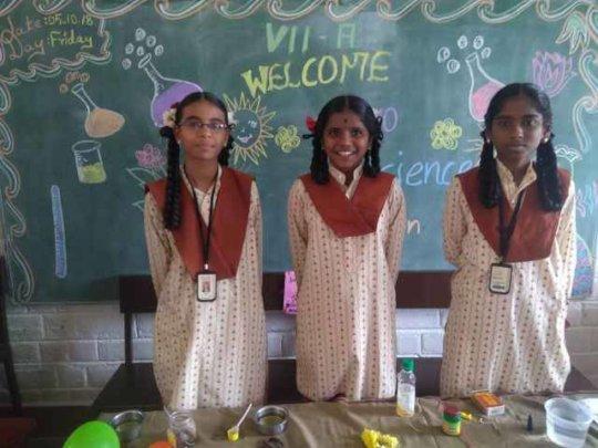 Science Exhibition At Erode School - GCS1