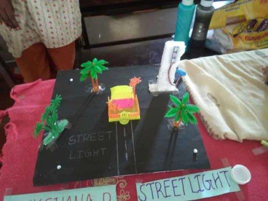 Science Exhibition At Erode School - GCS2