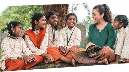 Isha Vidhya Girl Students - 04-01-2019 - 1