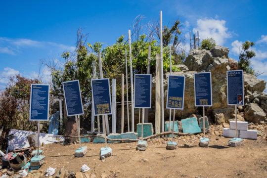 Hurricane Protocol, a poetry exhibit.