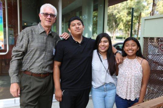 Dennis, Daniel and Daniel's family