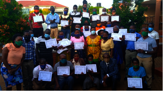 The newest class of Healing Advocates in Uganda