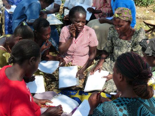 Teach reading and writing to 450 illiterate Uganda