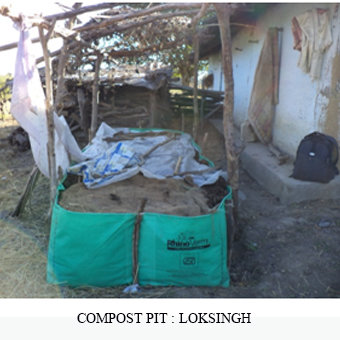 Compost Pit for Food Security of a tribal Family
