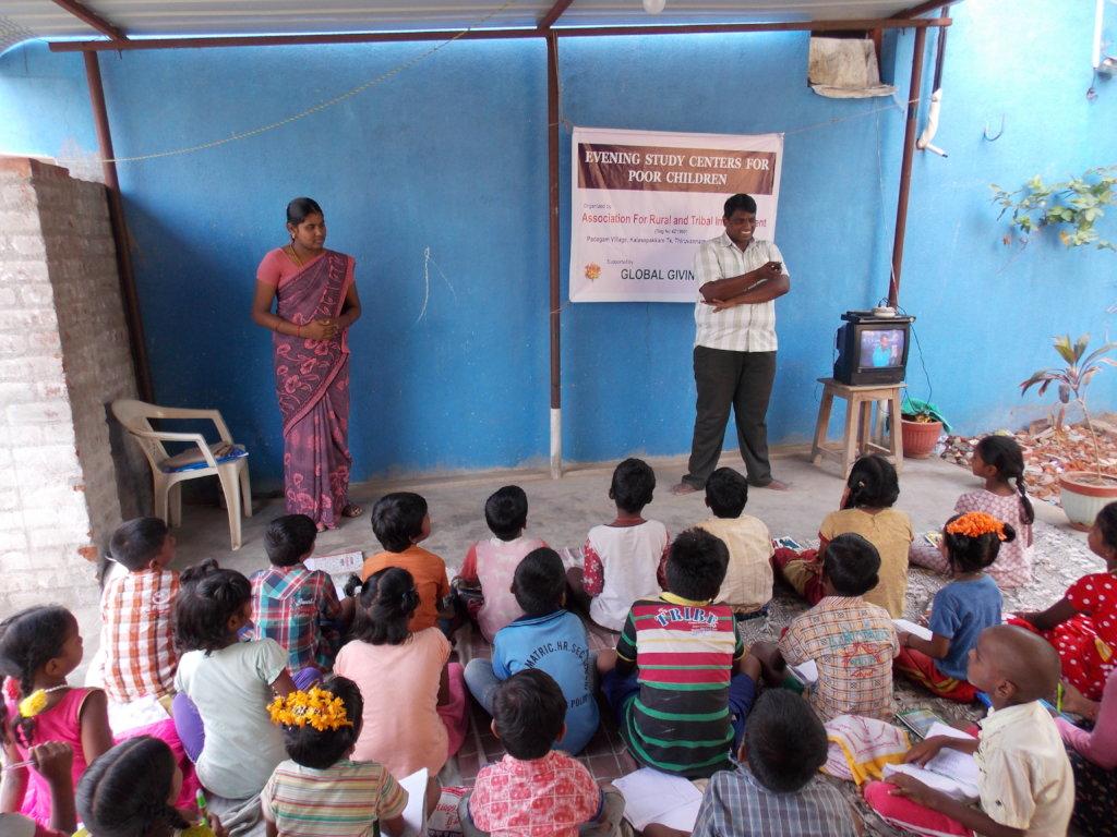 Evening Study Centers for poor children