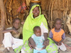 Your donations mean women can support the family