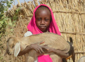 Hawa and her Goat