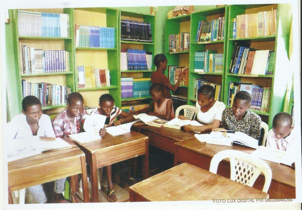 Build a community children library in Karu Nigeria