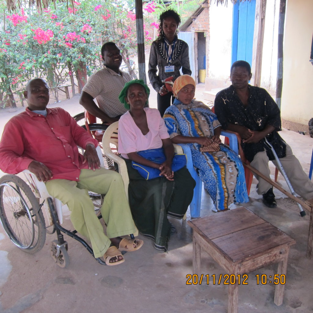 Support 128 Disabled People Agriculture Machines