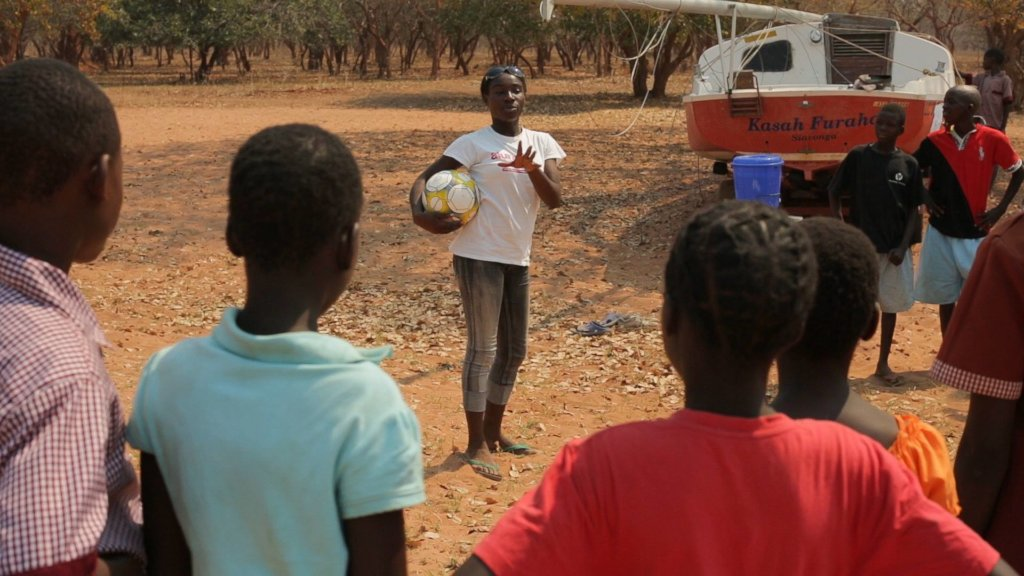 Educate Out of School Zambian Rural Girls
