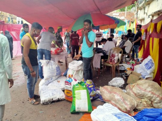 Emergency Food Distribution