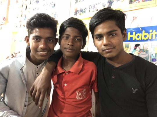 Rehan and his friends - making a difference
