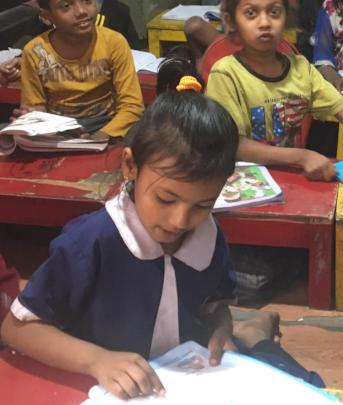 Kashmira loves school and our after school classes