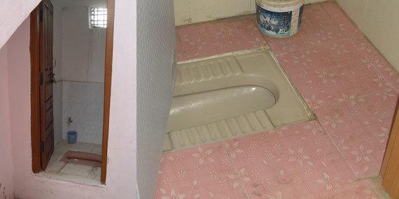 Four Toilets for 200 Villagers in Elekuru Nigeria
