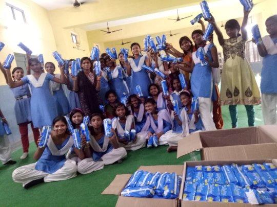 Menstrual Hygiene Kit Distribution
