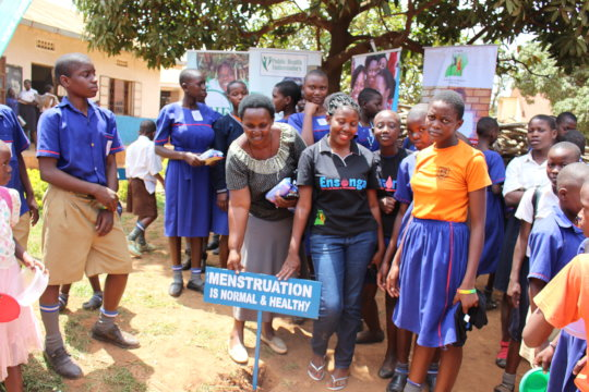Menstruation with dignity for 1000 Uganda Girls