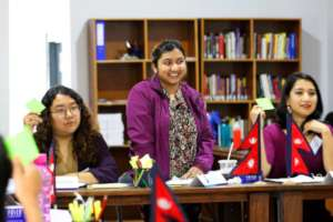 YWPLI Fellow in Political Leadership Training