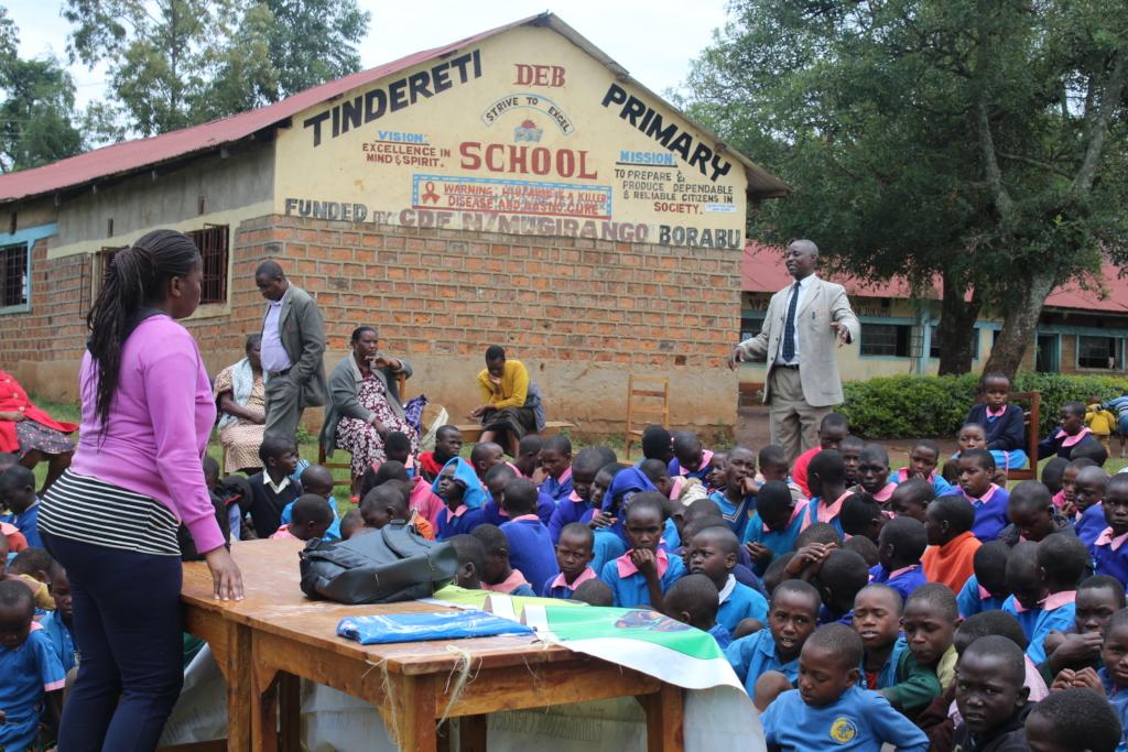 Teacher asking HFAW to reach more schools wthmessa