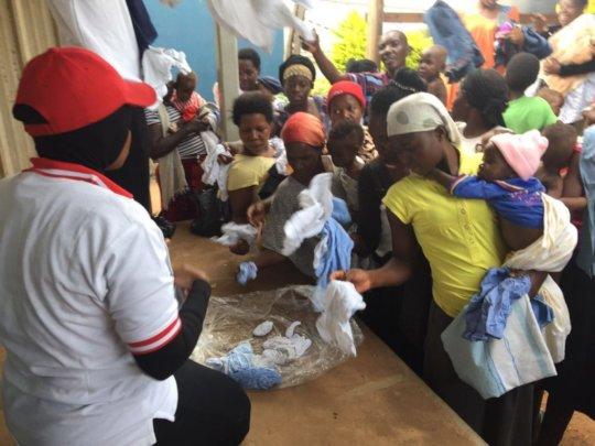Refugee crisis in Uganda
