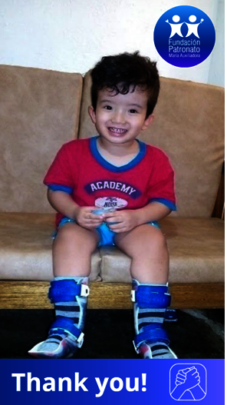 Samuel smiling